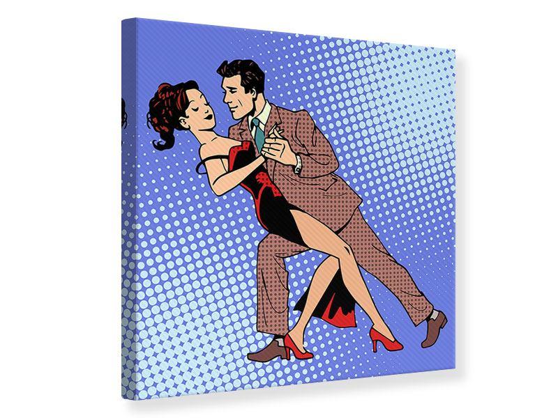 Leinwandbild Pop Art Merengue