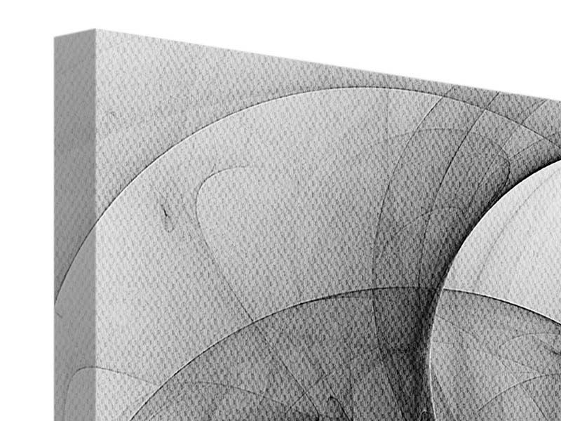 Leinwandbild Abstrakte Kreisende Kreise