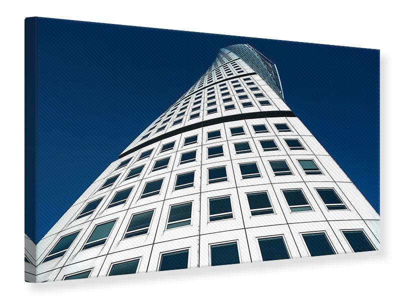 Leinwandbild Meisterstück Wolkenkratzer