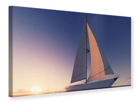 Leinwandbild Das Segelschiff