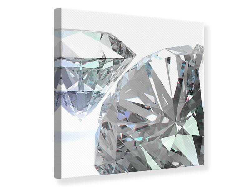 Leinwandbild XXL Diamant