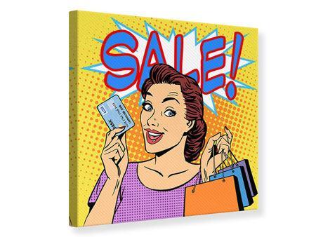 Leinwandbild Pop Art Sale