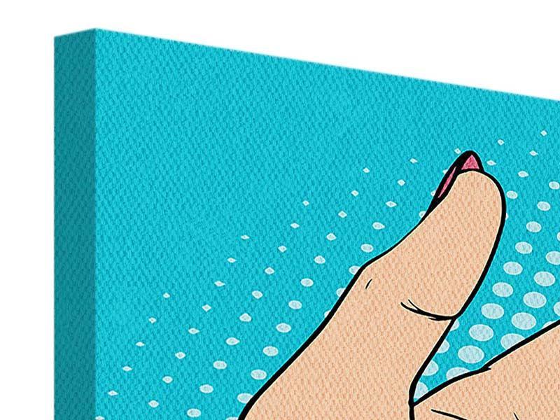 Leinwandbild Pop Art Nails