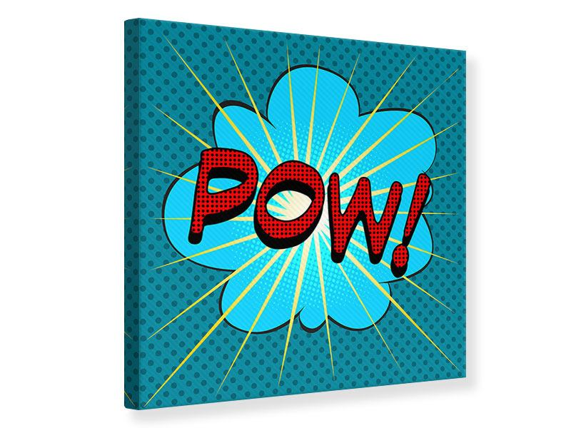 Leinwandbild Pop Art Pow