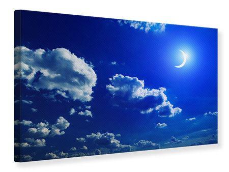 Leinwandbild Der Mond