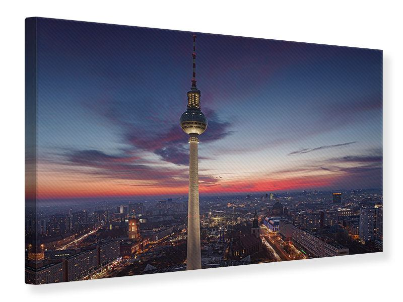 Leinwandbild Berlin