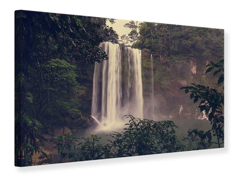 Leinwandbild Wasserfall in Mexiko