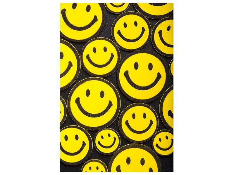Leinwandbild Smileys