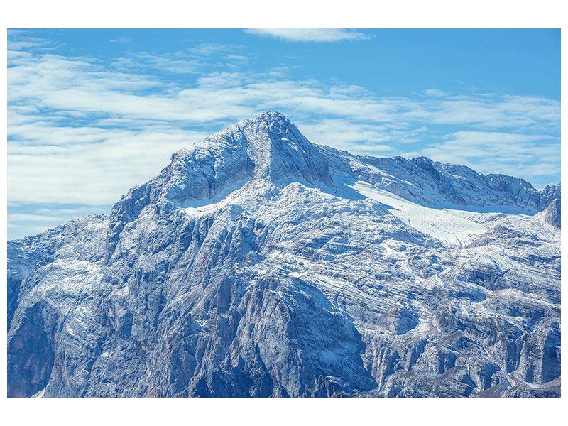 Leinwandbild Friedliche Bergstimmung