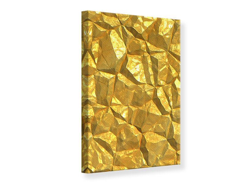 Leinwandbild Gold