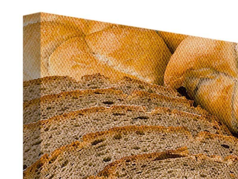 Leinwandbild Brotarten