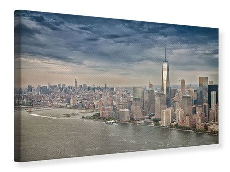 Leinwandbild Skyline Manhattan