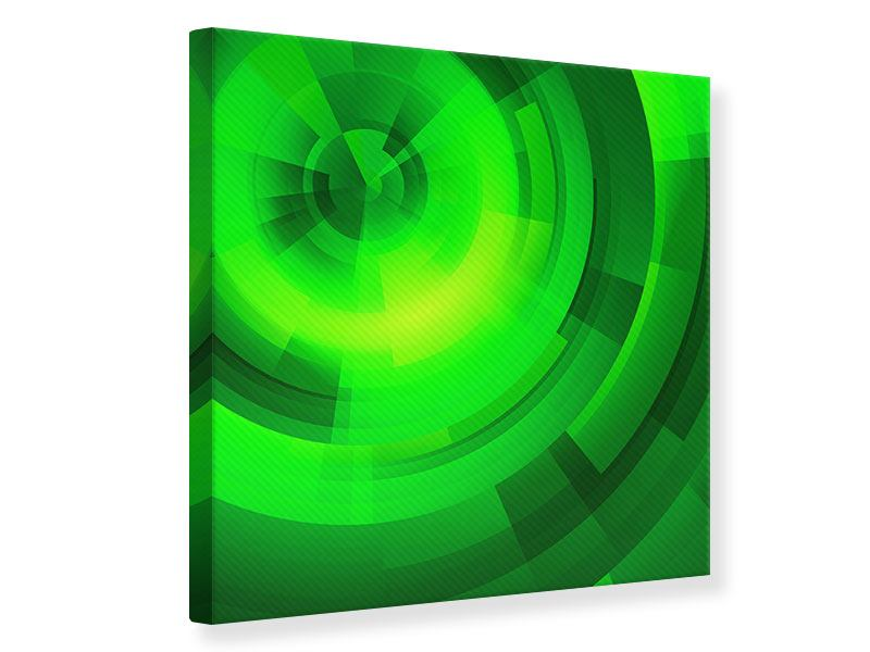 Leinwandbild Perspektiven in Grün