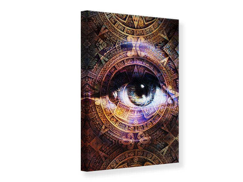 Leinwandbild Psychedelic Eye