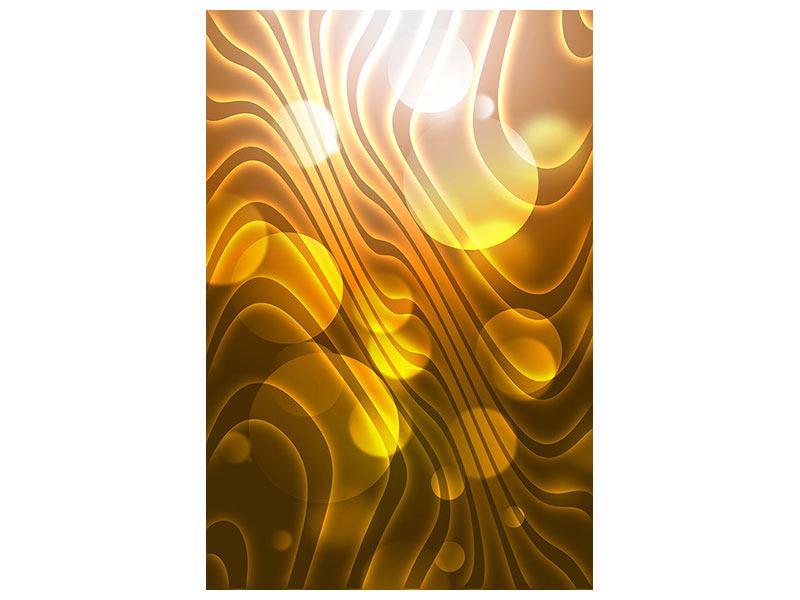 Leinwandbild Abstrakte Kugelwellen