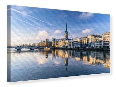 Leinwandbild Zürich