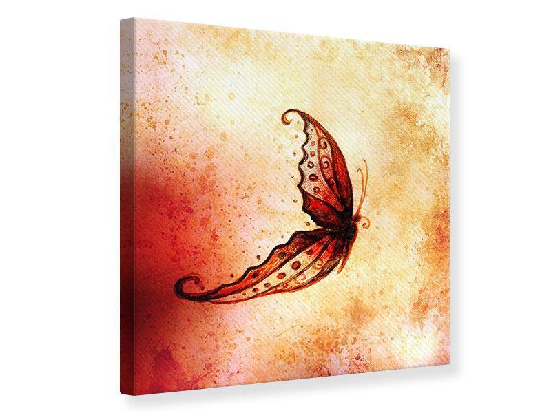 Leinwandbild Butterfly Gemälde