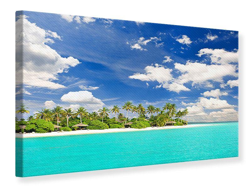 Leinwandbild Meine Insel
