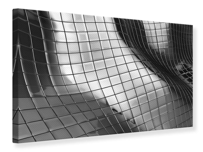 Leinwandbild Abstrakter Stahl