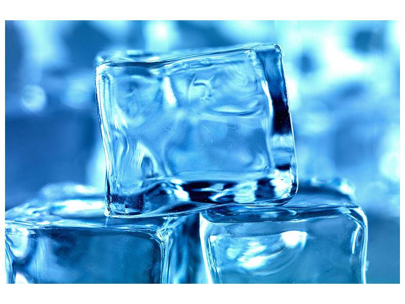 Leinwandbild Eiswürfel XXL