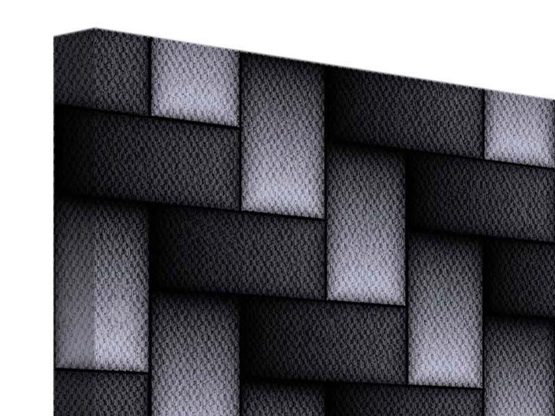 Leinwandbild 3D-Treppen