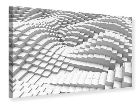 Leinwandbild 3D-Elemente