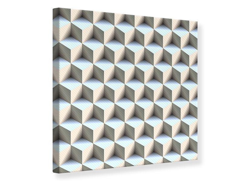 Leinwandbild 3D-Polytop