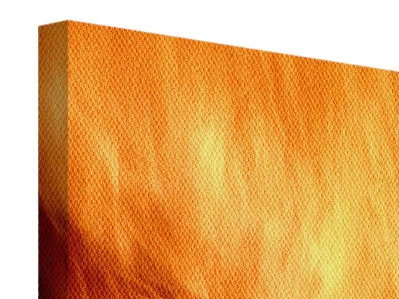 Leinwandbild Flammen