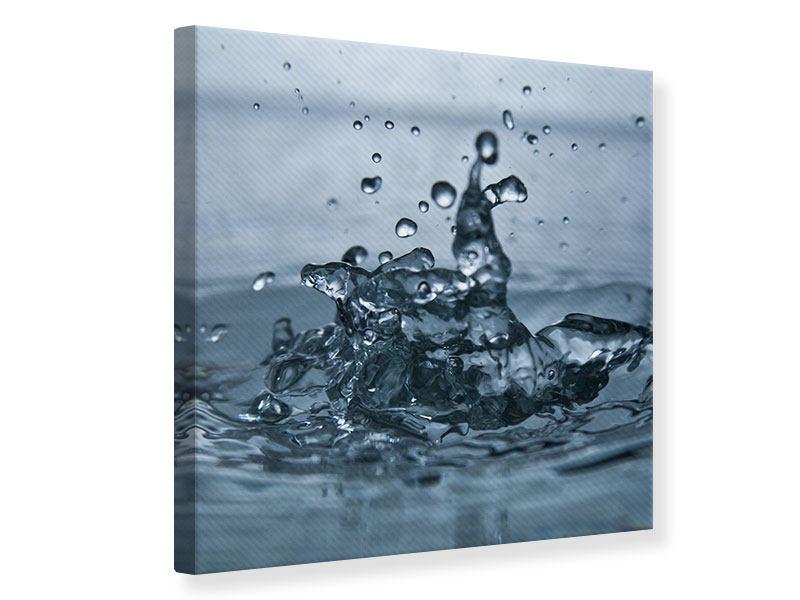 Leinwandbild Wassertropfen