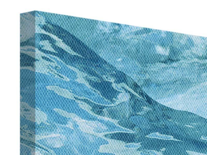 Leinwandbild Cooler Eislook