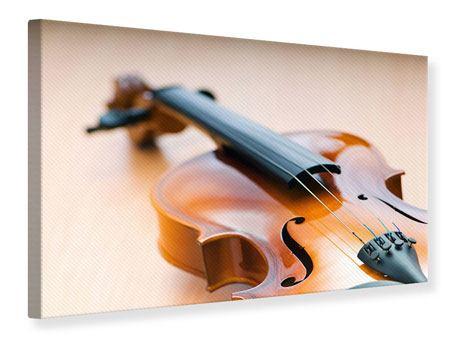Leinwandbild Geige
