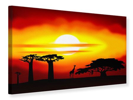 Leinwandbild Faszination Afrika