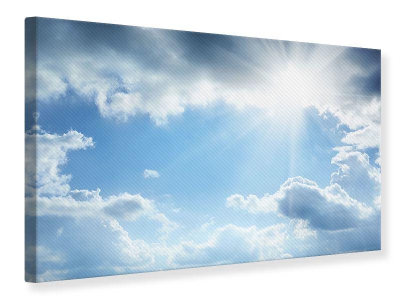 Leinwandbild Himmelshoffnung