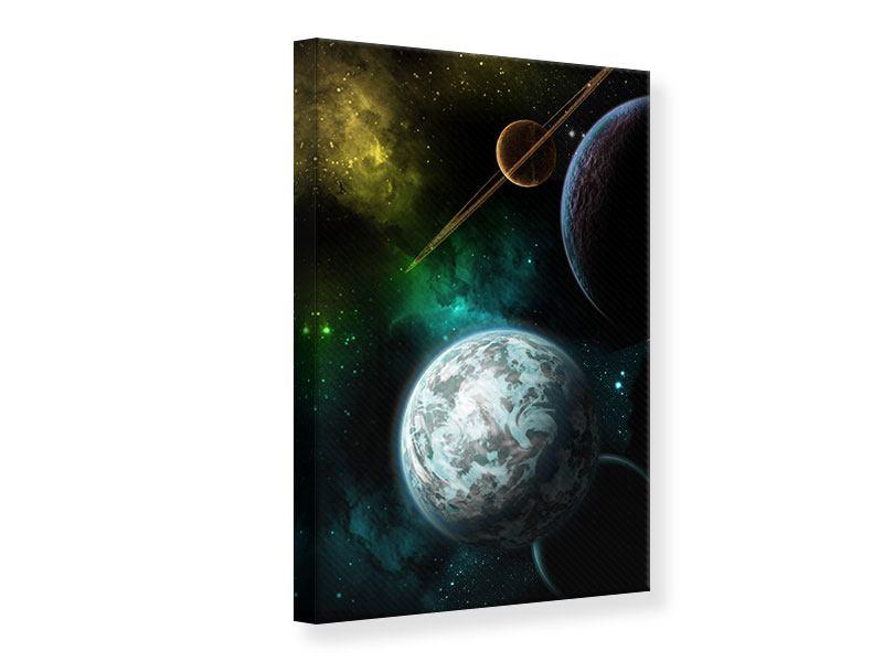 Leinwandbild Der Weltraum