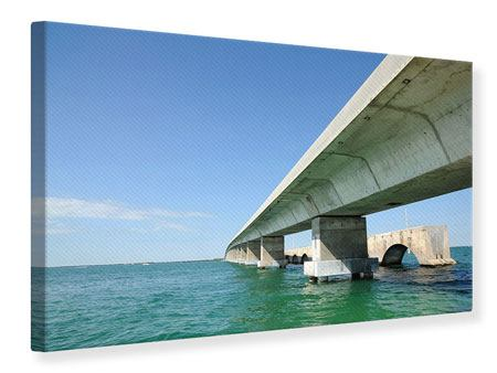 Leinwandbild Seven Mile Bridge