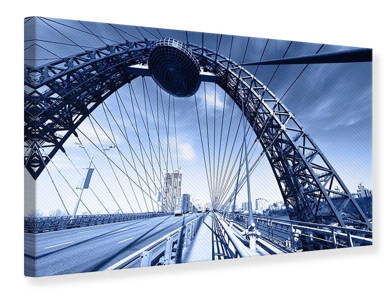 Leinwandbild Schiwopisny-Brücke