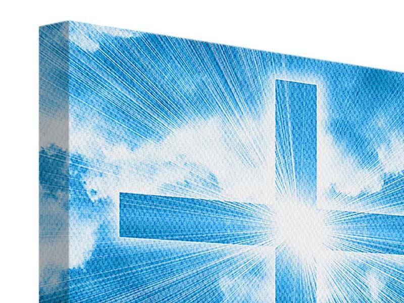 Leinwandbild Das Kreuz
