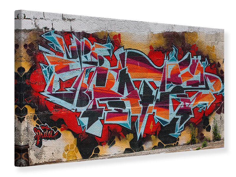 Leinwandbild New York Graffiti