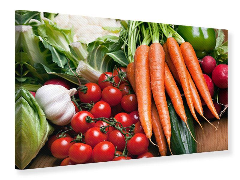 Leinwandbild Gemüse