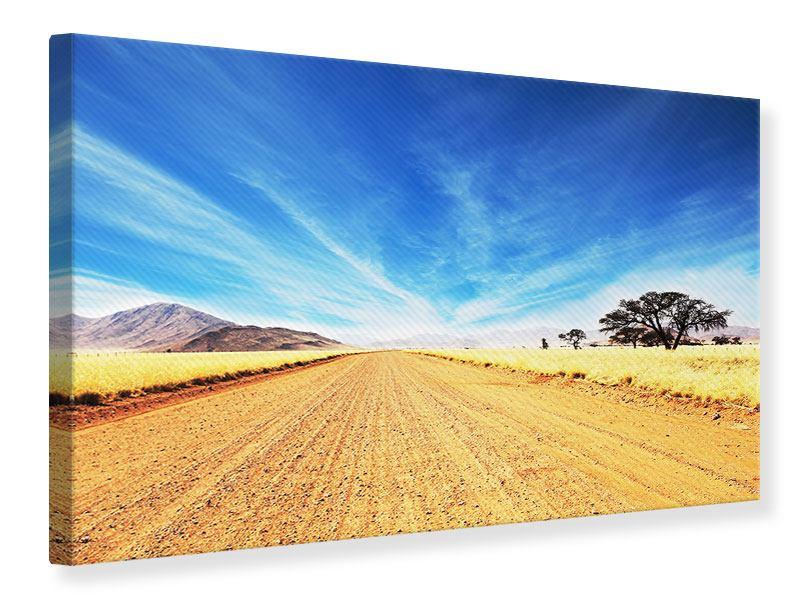 Leinwandbild Eine Landschaft in Afrika