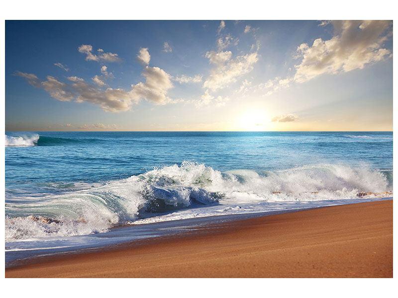 Leinwandbild Die Wellen des Meeres