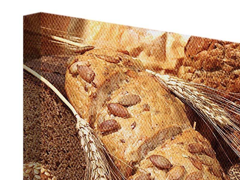 Leinwandbild Brotsorten