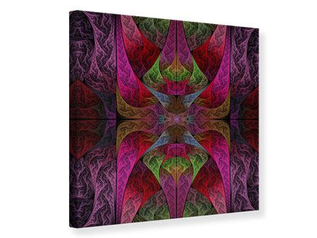 Leinwandbild Fraktales Muster