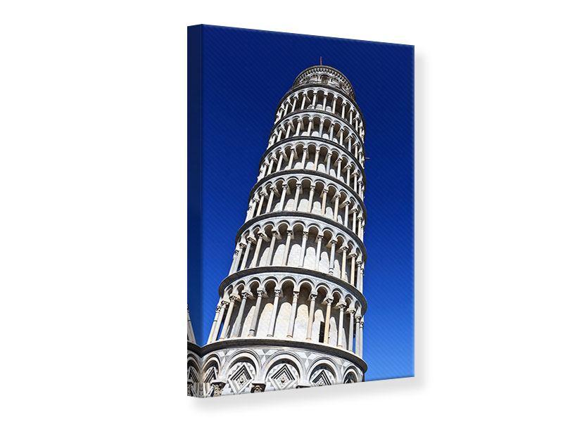 Leinwandbild Der schiefe Turm von Pisa