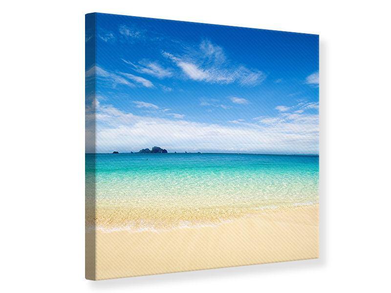 Leinwandbild Blaue Lagune
