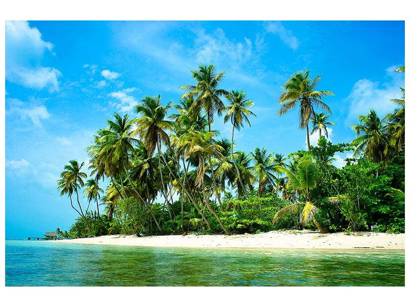 Leinwandbild Reif für die Ferieninsel