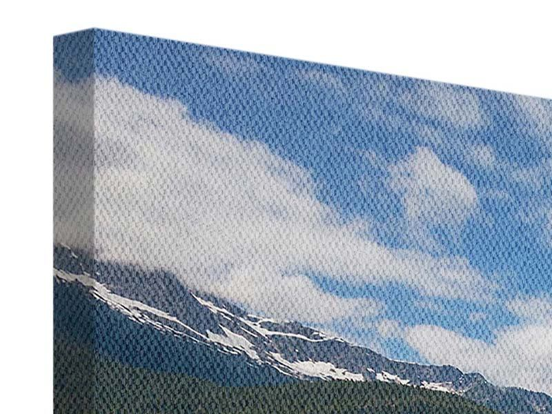 Leinwandbild Diablo Bergsee