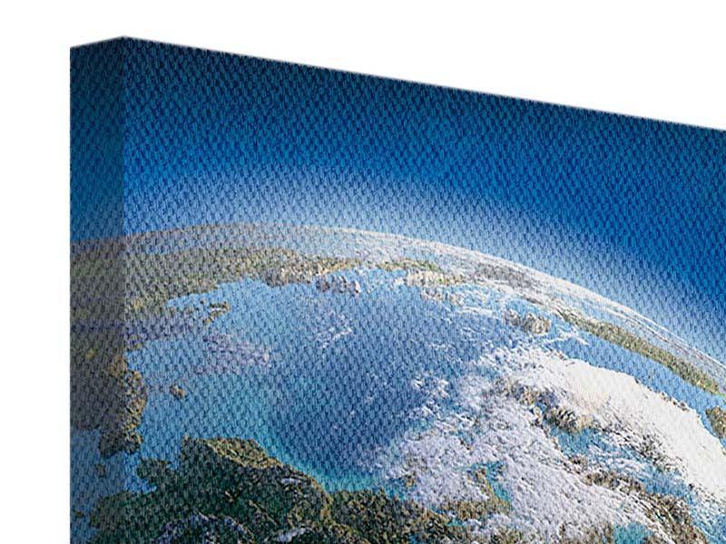Leinwandbild Die Erde