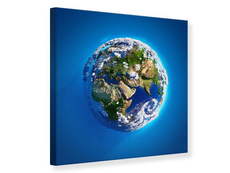 Leinwandbild Planet Earth