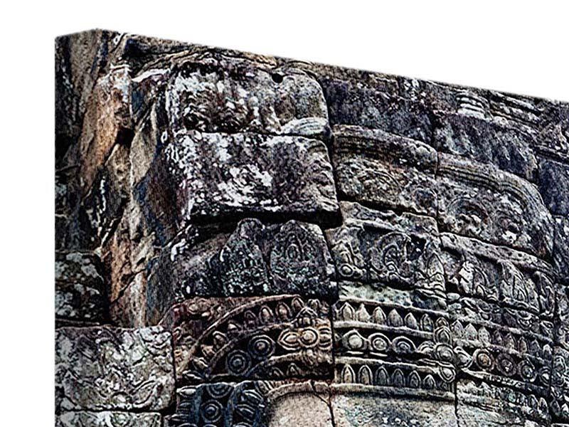 Leinwandbild Buddha Angkor Thom